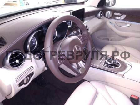 Подключение теплого руля Mercedes GLA200